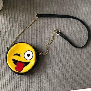 Olivia Miller Smiling Emoji Purse